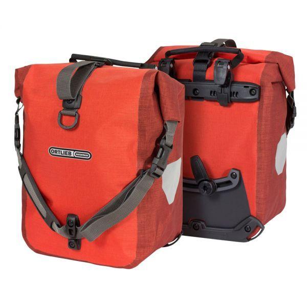 Ortlieb Sport-Roller Plus QL2.1 signal red - dark chilli (Taschen-Paar)